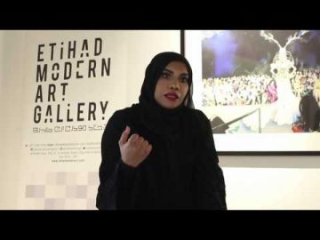 Do you start painting with an end result in mind? Zubaida Al Matrooshi